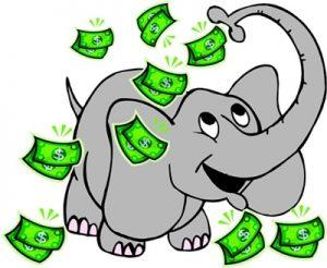система денежный слон