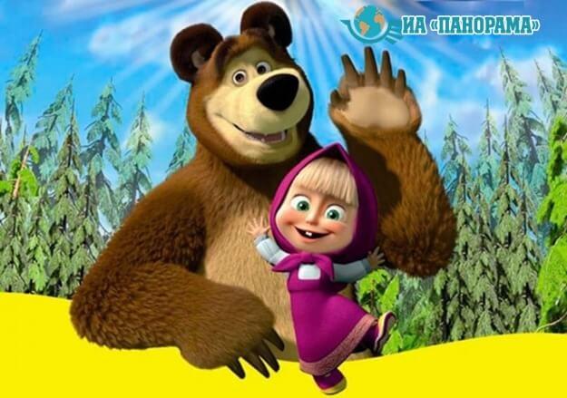 запретили мультсериал «Маша и медведь»