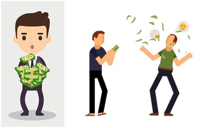 мальчики с деньгами